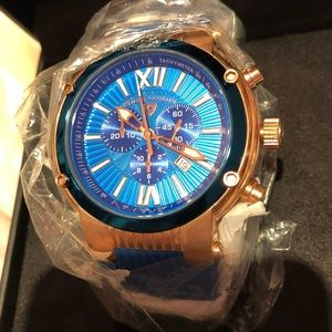 Swiss Legend Men's rare watch Silicone band